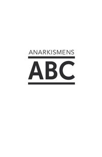 Anarkismens ABC